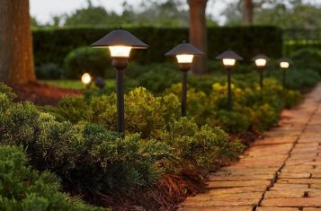Outdoor Landscape Lighting in Bryan Texas